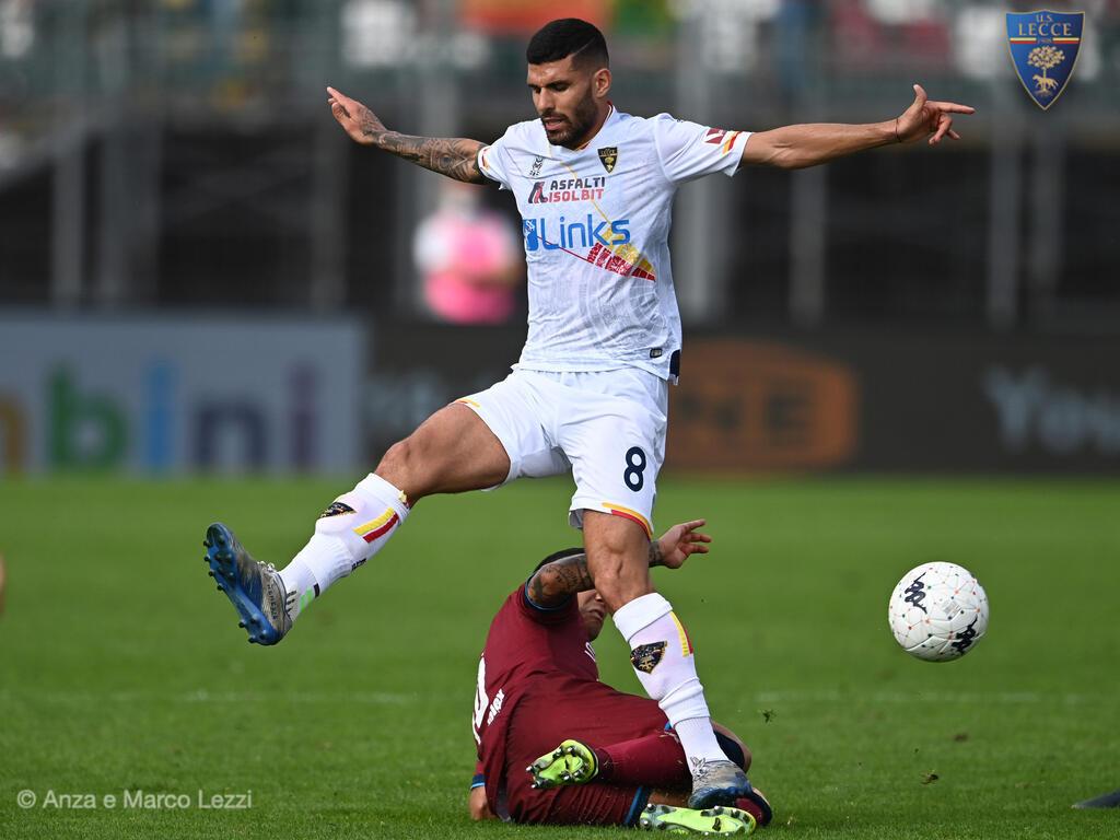 In campo con L'U.S. Lecce
