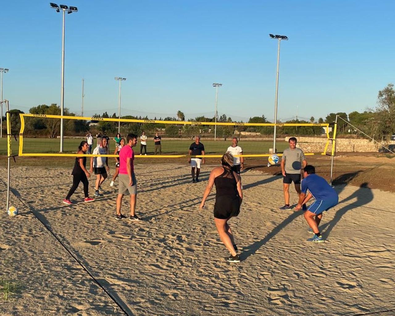 Calcio e Beach Volley nel Links Campus